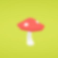 Free 3d printer model Mushroom, Colorful3D