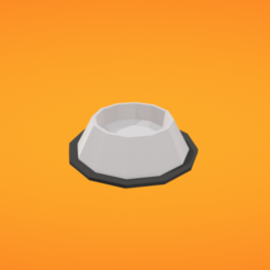 Download free 3D printing models Dog bowl, Colorful3D