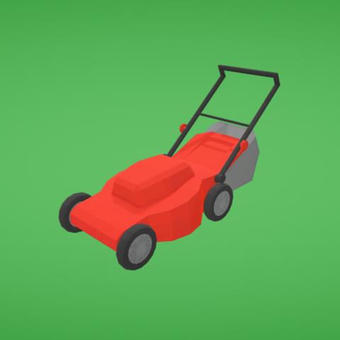 Free 3D printer files Lawn mower, Colorful3D