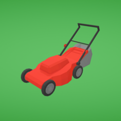 Download free 3D printing models Lawn mower, Colorful3D
