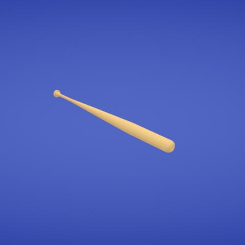 Free stl file Baseball bat, Colorful3D