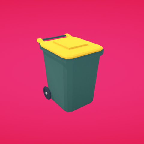 Free STL Garbage, Colorful3D