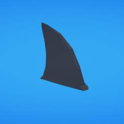 Free 3D print files Shark fin, Colorful3D