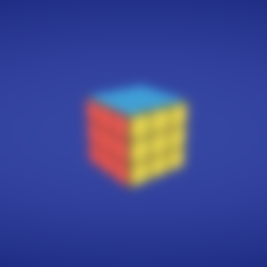 Free Rubik's cube 3D model, Colorful3D