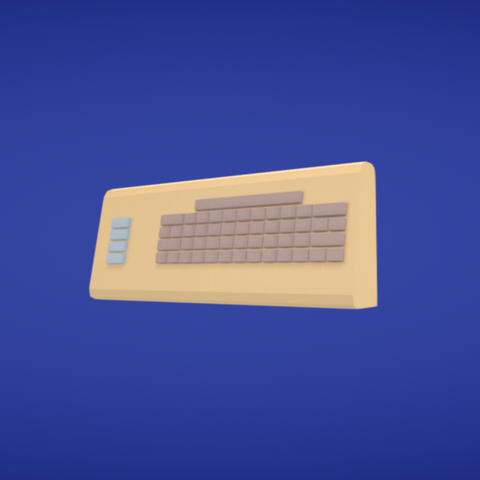 Free 3D file Commodore, Colorful3D
