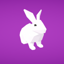 Download free 3D printing models Rabbit, Colorful3D