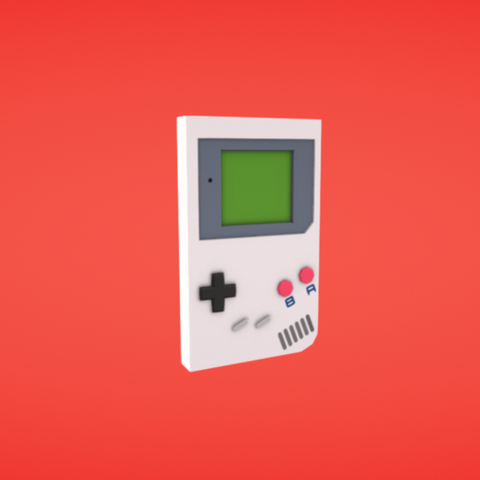Free 3D printer files Gameboy, Colorful3D