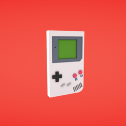 Fichier 3D gratuit Gameboy, Colorful3D