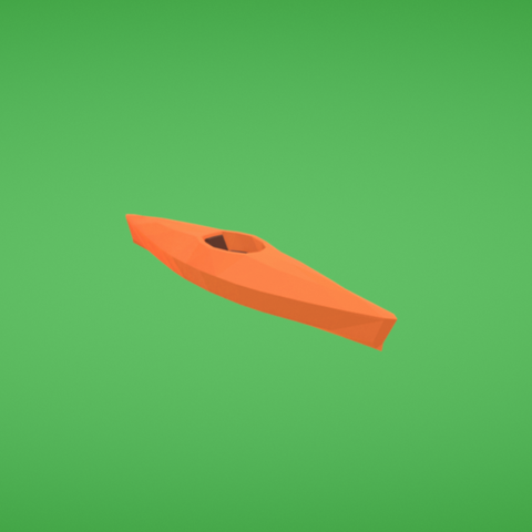 Télécharger fichier imprimante 3D gratuit Kayak, Colorful3D