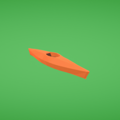 Download free 3D printer designs Kayak, Colorful3D