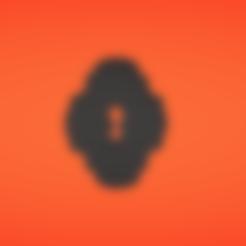 Free stl Keyhole, Colorful3D