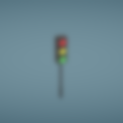 Traffic light.obj Download free OBJ file Traffic light • 3D printer template, Colorful3D
