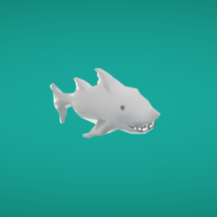 Fichier STL gratuit Requin, Colorful3D