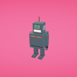 Download free 3D model Robot, Colorful3D
