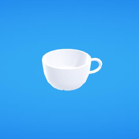 Free 3D printer model Tea cup, Colorful3D