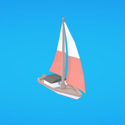 Télécharger fichier 3D gratuit Voilier, Colorful3D