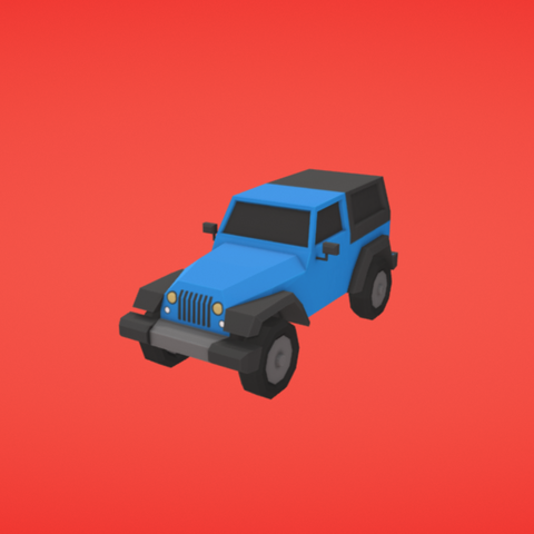 Free STL Truck, Colorful3D
