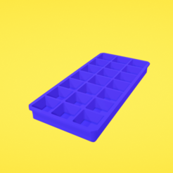 Download free 3D printing templates Ice cube tray, Colorful3D