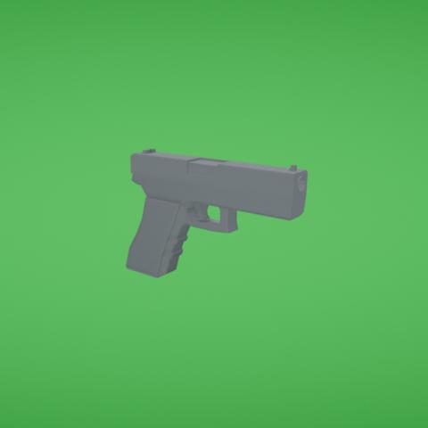 Free 3d printer model Gun, Colorful3D