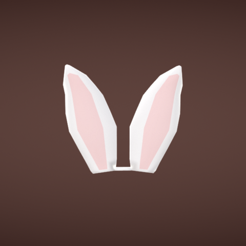 Free Bunny ears STL file, Colorful3D