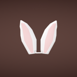 Download free STL files Bunny ears, Colorful3D