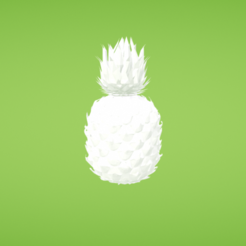 Free 3d print files Pineapple, Colorful3D