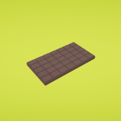 Free 3D printer model Chocolate, Colorful3D