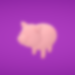 Free 3d model Pig, Colorful3D