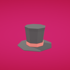 Download free 3D printing files Top hat, Colorful3D