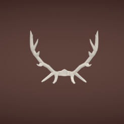 Download free STL Antlers, Colorful3D