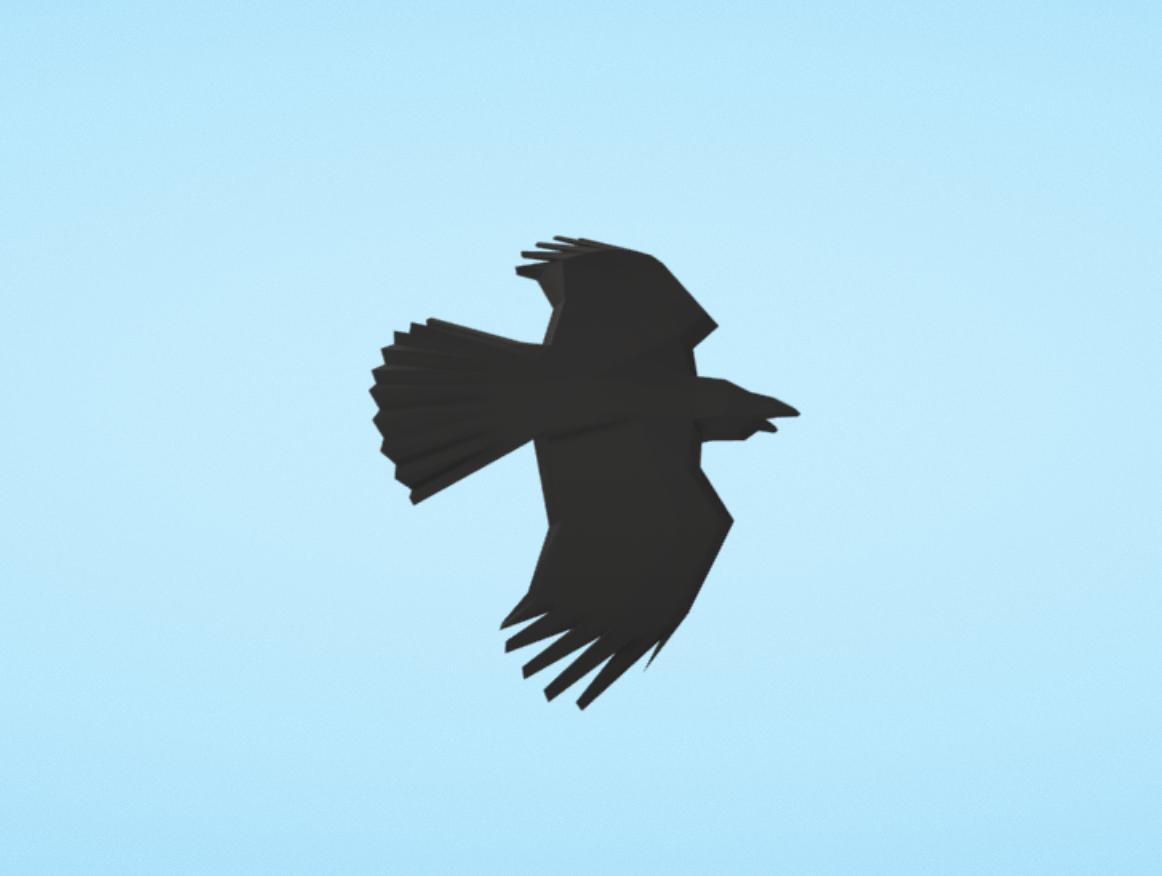 Capture d'écran 2018-01-11 à 16.35.49.png Download free OBJ file Anonymous bird • 3D printable object, Colorful3D