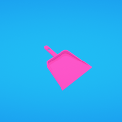 Modèle 3D gratuit Bac à poussière, Colorful3D