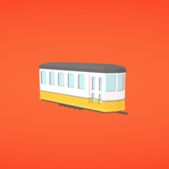 Free 3D printer files Tram, Colorful3D