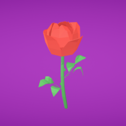 STL gratis Rosa, Colorful3D