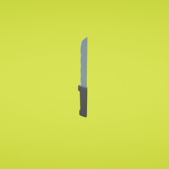 Download free 3D printer templates Steak knife, Colorful3D