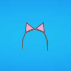 Free STL files Cat ears, Colorful3D