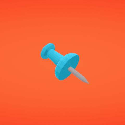 Free STL Pin, Colorful3D