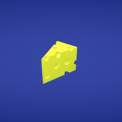 Free stl file Cheese, Colorful3D