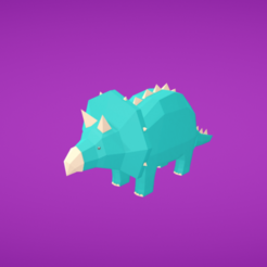 Download free 3D printer templates Dinosaur, Colorful3D