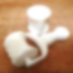 Télécharger plan imprimante 3D gatuit Rouleau de ravioli, Poly