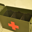 Download free 3D printer files Ammo Box Crate, dustnnotes