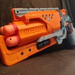LbqclIO.jpg Download free STL file Nerf MEGA hammershot • 3D printer model, Yattaro_Kitkat