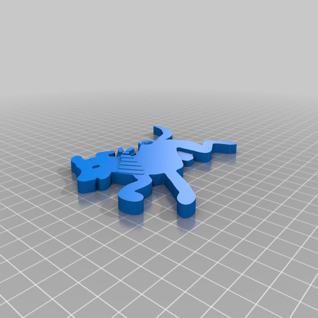 Matapacos_LGTBQ_Llavero.png Download free STL file Matapacos • 3D printer model, Psukez