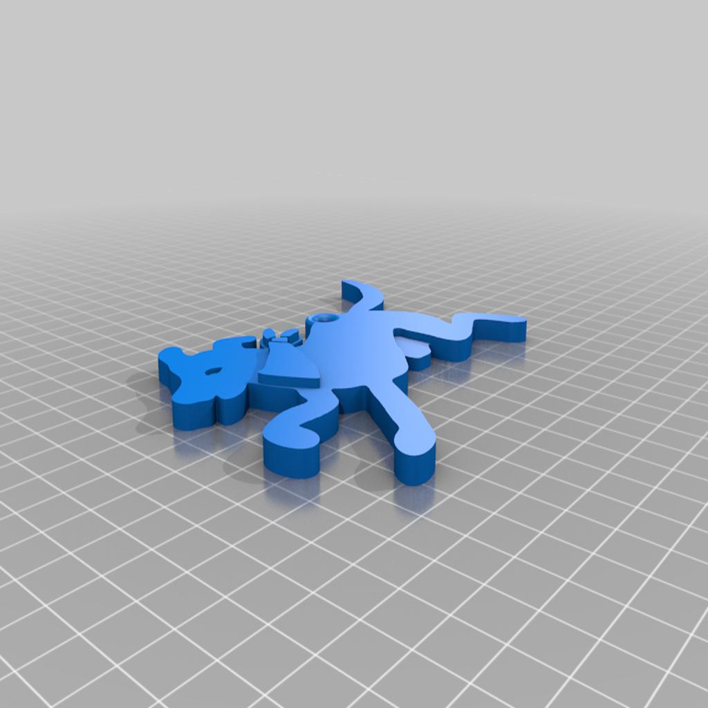 Matapacos_Llavero.png Download free STL file Matapacos • 3D printer model, Psukez