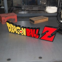 DSC_0307.JPG Download STL file LOGO DBZ • 3D printer model, 3DNaow