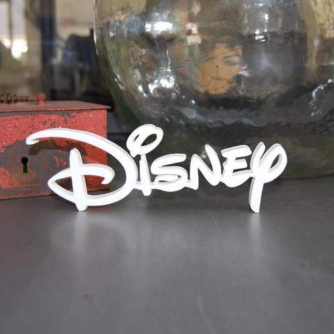 Télécharger objet 3D gratuit LOGO DISNEY , 3DNaow