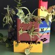 Descargar modelos 3D para imprimir Pared vegetal angular, 3DNaow