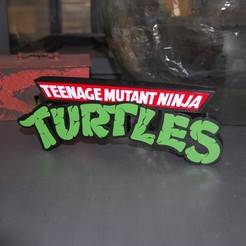 DSC_0405.JPG Download STL file Teenage Mutant Ninja Turtles LOGO • Template to 3D print, 3DNaow
