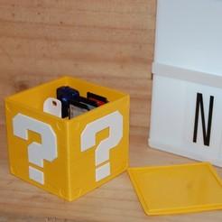 Diseños 3D gratis Mario USB Cube, 3DNaow