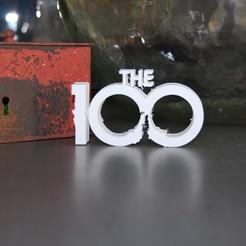 Descargar archivo 3D gratis LOGO THE 100, 3DNaow